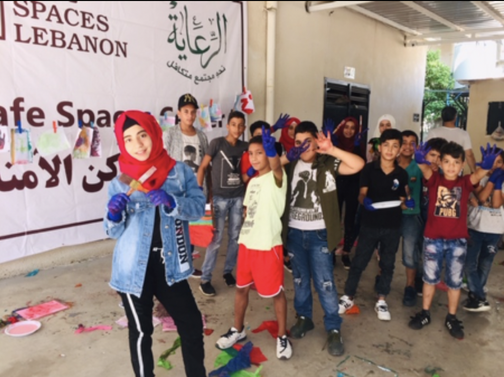 Syrian Children Art School Safe Spaces Lebanon