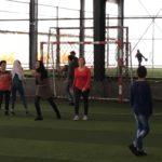 Girls soccer team safe Spaces
